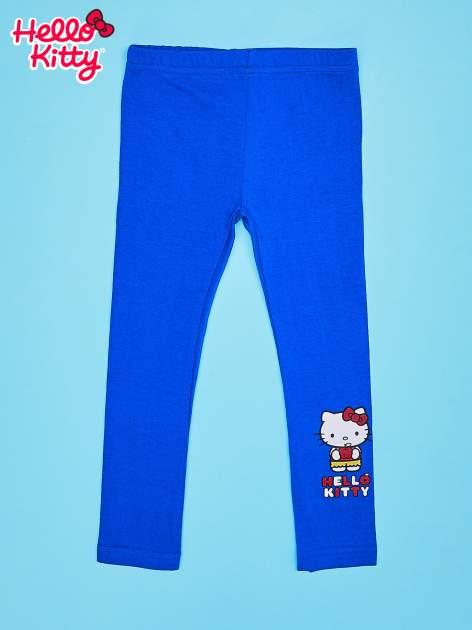 Granatowe legginsy dla dziewczynki HELLO KITTY                                  zdj.                                  1