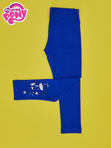Granatowe legginsy dla dziewczynki MY LITTLE PONY                                  zdj.                                  3