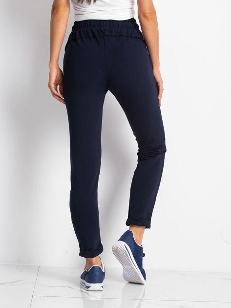Granatowe spodnie Approachable                              zdj.                              2