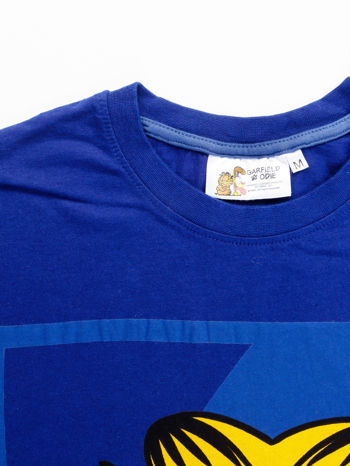 Granatowy t-shirt męski GARFIELD                                  zdj.                                  13