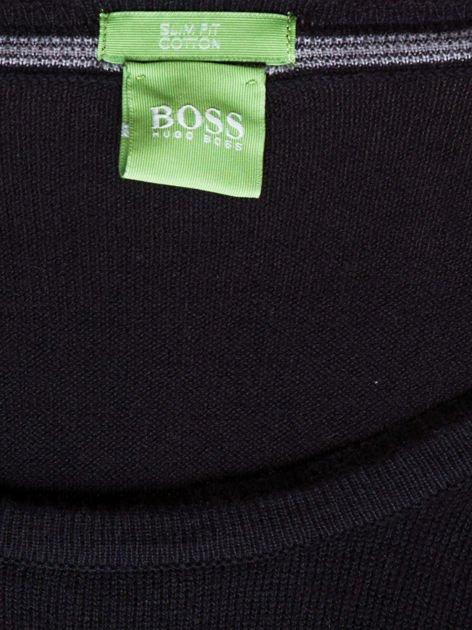 HUGO BOSS Czarny sweter męski                               zdj.                              6