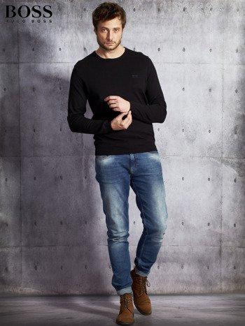 HUGO BOSS Czarny sweter męski                               zdj.                              4