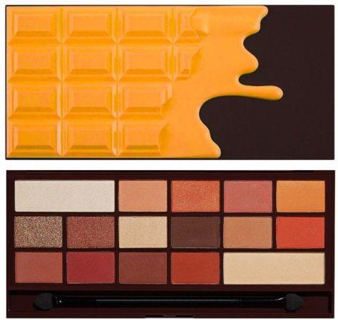 I Heart Revolution Orange Chocolate Palette Paleta 16 cieni do powiek 22g