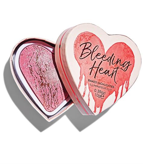 I ♥ Revolution Bleeding Heart Rozświetlacz wypiekany 10 g
