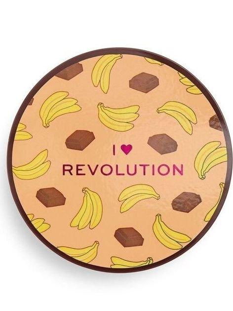 I ♥ Revolution Puder sypki Loose Baking Powder Chocolate Banana 22 g