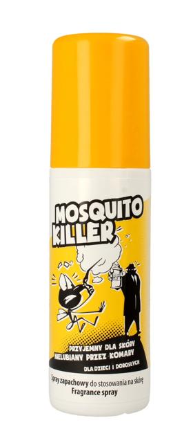 """Ideepharm Mosquito Killer Spray zapachowy odstraszający owady  125ml"""""""