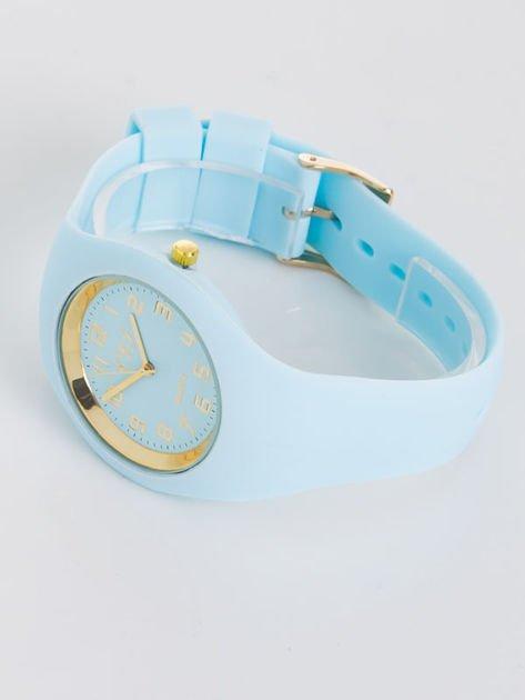 JELLY błękitny zegarek damski                                   zdj.                                  2