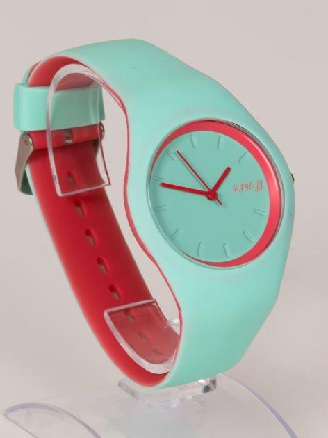 JELLY miętowy zegarek damski HIT!