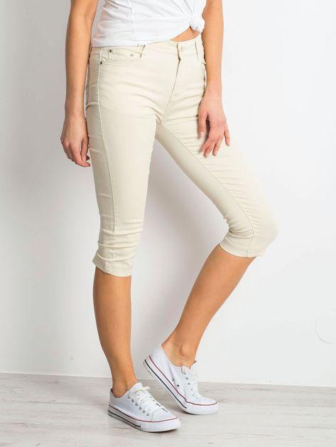 Jasnobeżowe spodnie Within                              zdj.                              3