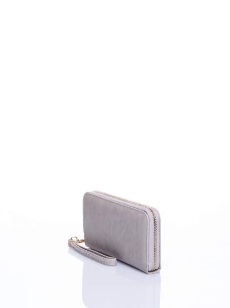 Jasnobeżowy portfel z rączką                                  zdj.                                  2