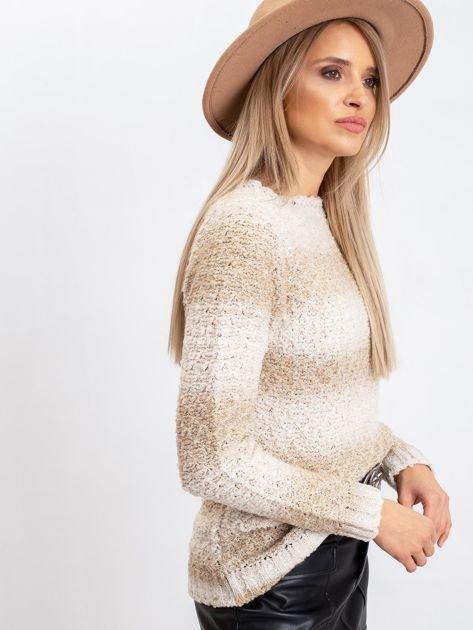 Jasnobeżowy sweter Agatha                              zdj.                              3