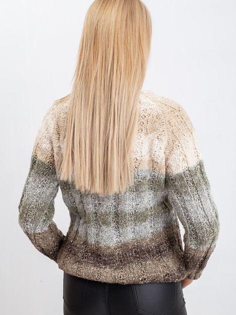 Jasnobeżowy sweter Nevermind                              zdj.                              2