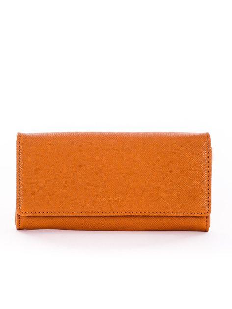 Jasnobrązowy damski portfel
