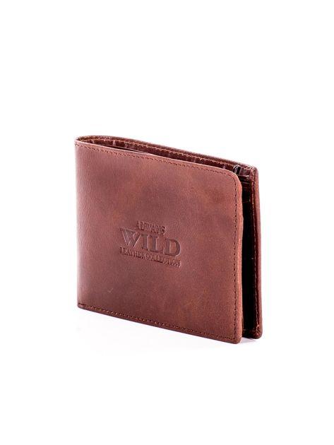 Jasnobrązowy miękki skórzany portfel dla mężczyzny                              zdj.                              3