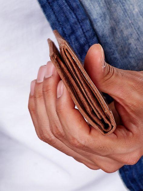 Jasnobrązowy portfel dla mężczyzny ze skóry naturalnej                              zdj.                              3