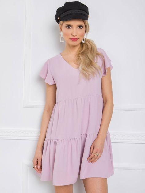 Jasnofioletowa sukienka Angel RUE PARIS