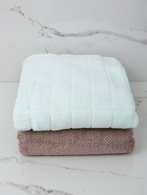 Jasnomiętowy ręcznik kąpielowy                              zdj.                              3