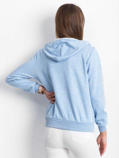 Jasnoniebieska bluza Warmth                              zdj.                              2