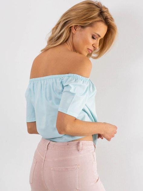 Jasnoniebieska bluzka Foolish                              zdj.                              2