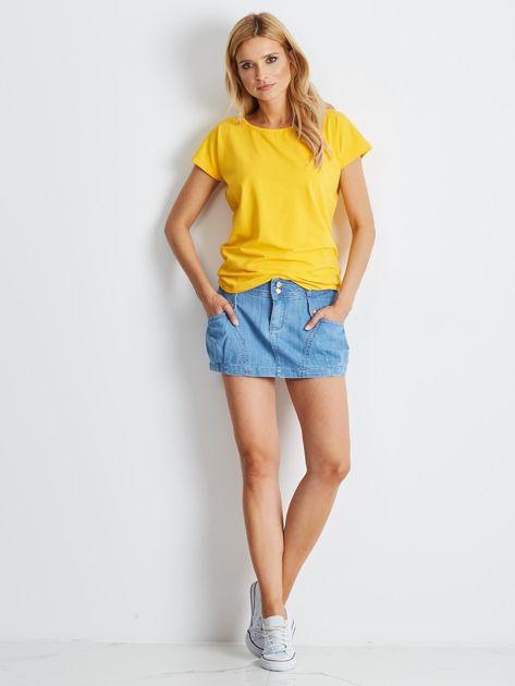 Jasnoniebieska spódnica Misscity                              zdj.                              5