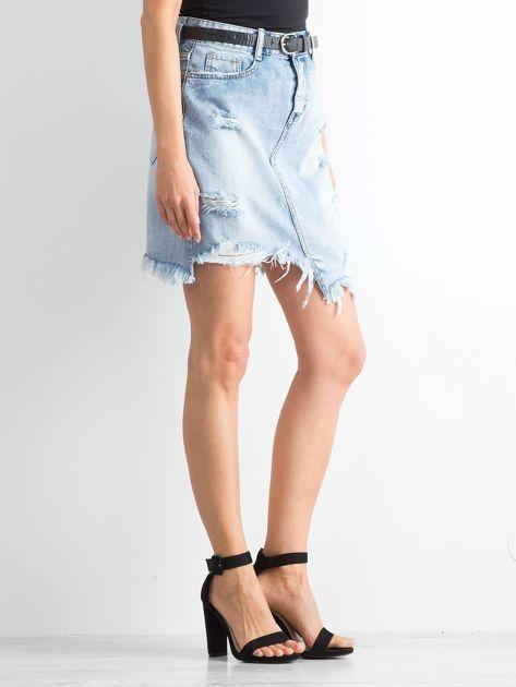 Jasnoniebieska spódnica Tornee                              zdj.                              3