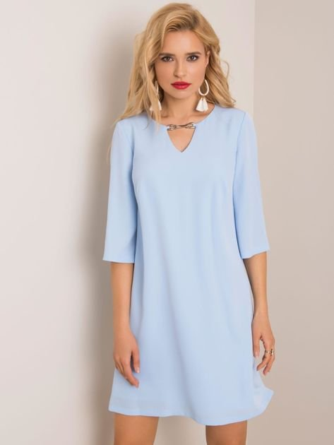 Jasnoniebieska sukienka Jamelia