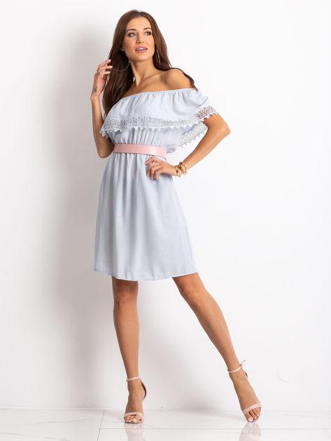 Jasnoniebieska sukienka Serenity                              zdj.                              4
