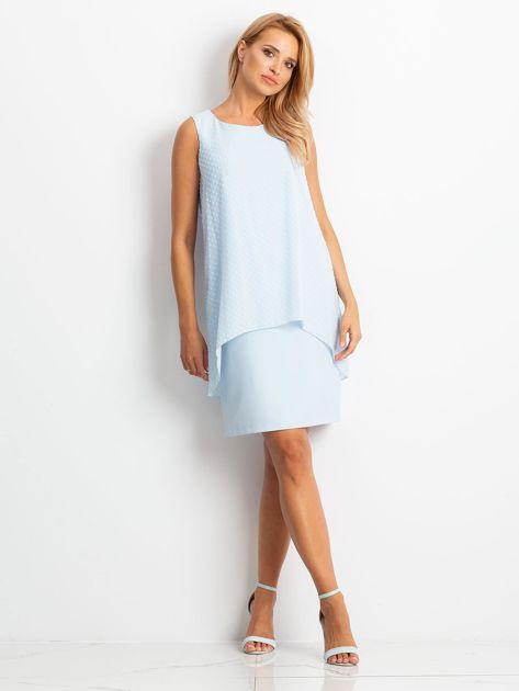 Jasnoniebieska sukienka Suve                              zdj.                              4