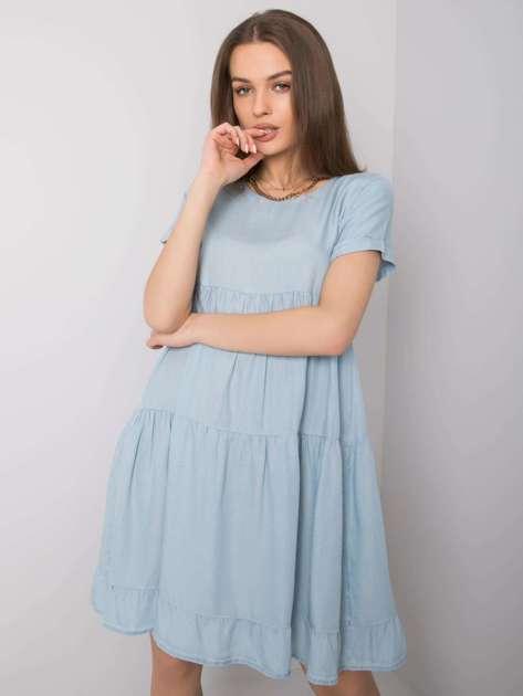 Jasnoniebieska sukienka Valencia STITCH & SOUL