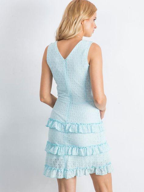 Jasnoniebieska sukienka Versatility                              zdj.                              2