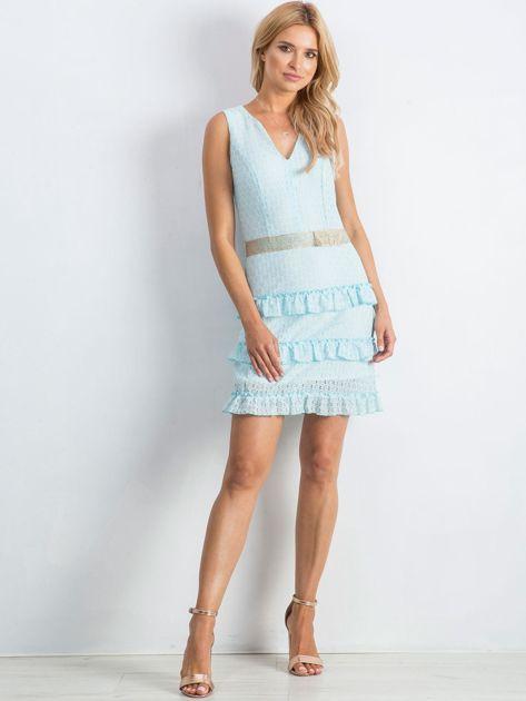 Jasnoniebieska sukienka Versatility                              zdj.                              4