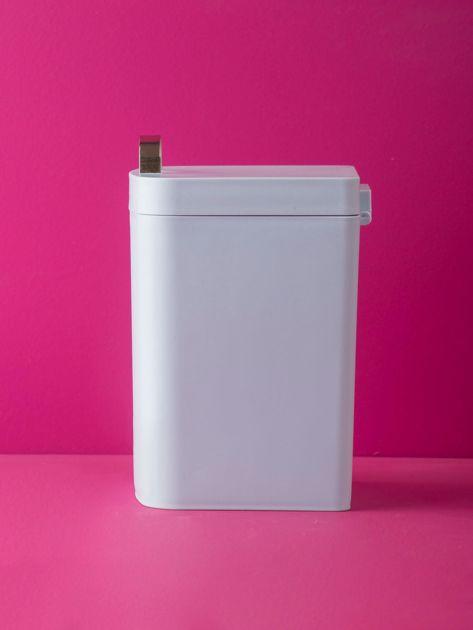 Jasnoniebieski kosz na śmieci na biurko                              zdj.                              2