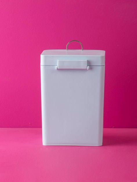 Jasnoniebieski kosz na śmieci na biurko                              zdj.                              3