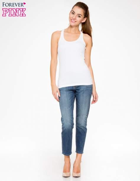 Jasnoniebieskie spodnie girlfriend jeans z cieniowaniem                                  zdj.                                  2