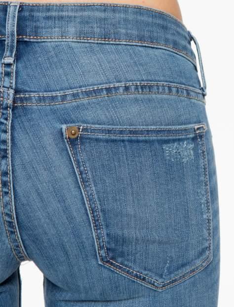 Jasnoniebieskie spodnie jeansowe z przetarciami                                  zdj.                                  6