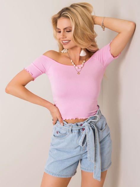 Jasnoróżowa bluzka Britney RUE PARIS