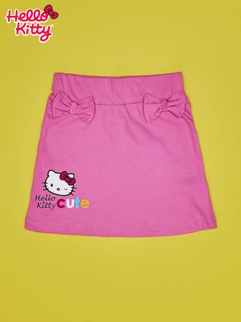Jasnoróżowa spódnica dla dziewczynki HELLO KITTY