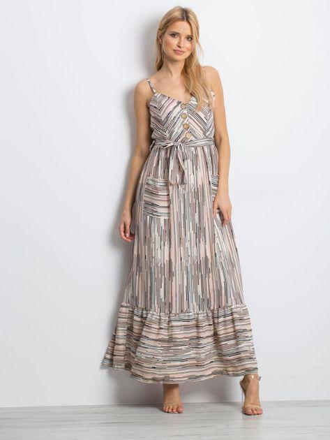 Jasnoróżowa sukienka City break                              zdj.                              4