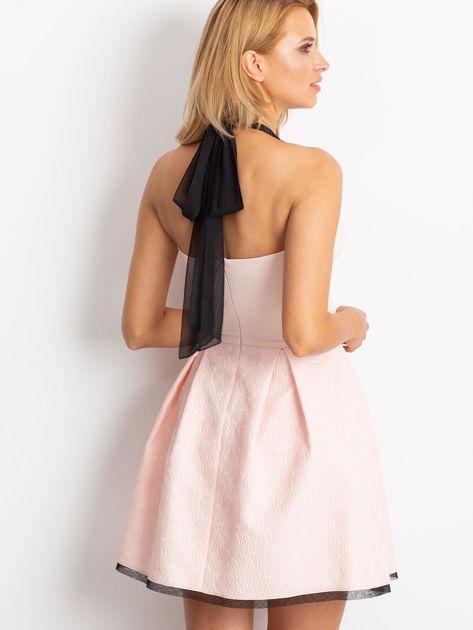 Jasnoróżowa sukienka Kim                              zdj.                              2