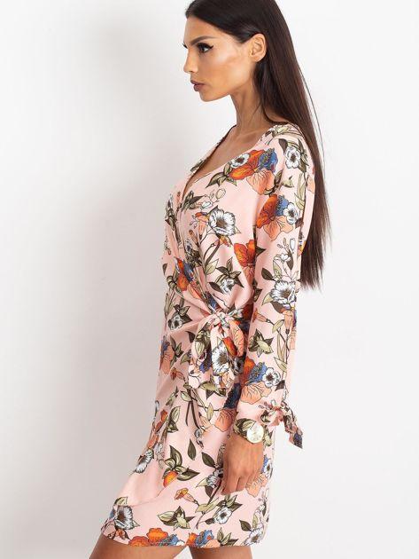 Jasnoróżowa sukienka Maybe                              zdj.                              3
