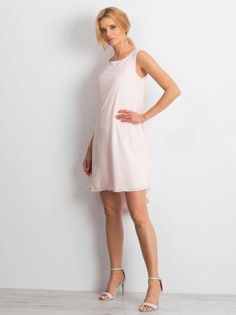 Jasnoróżowa sukienka Starlight                              zdj.                              4