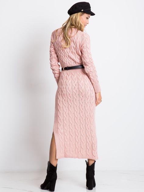 Jasnoróżowa sukienka Time                              zdj.                              2
