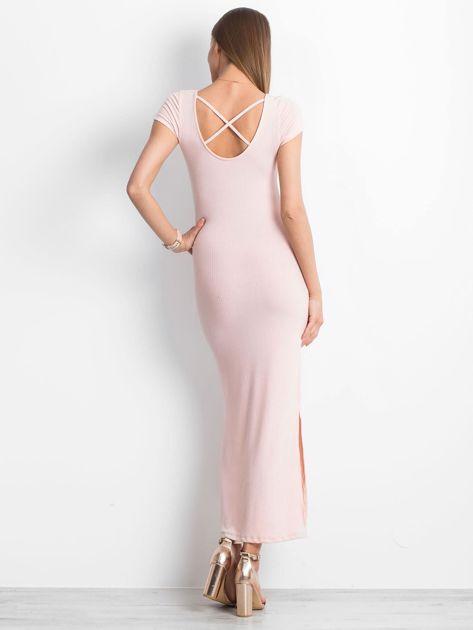 Jasnoróżowa sukienka Touching                              zdj.                              2