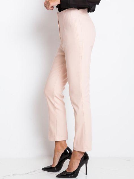 Jasnoróżowe spodnie Hyper                              zdj.                              3