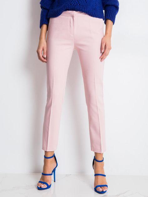 Jasnoróżowe spodnie Jessy                              zdj.                              5