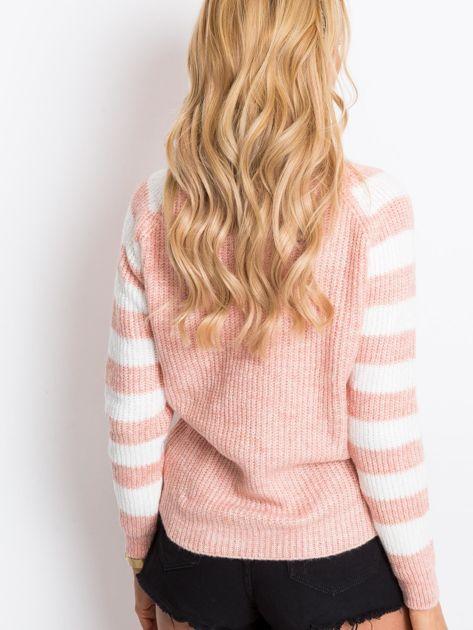 Jasnoróżowy sweter Independent                              zdj.                              2