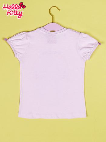 Jasnoróżowy t-shirt dla dziewczynki HELLO KITTY                                  zdj.                                  2