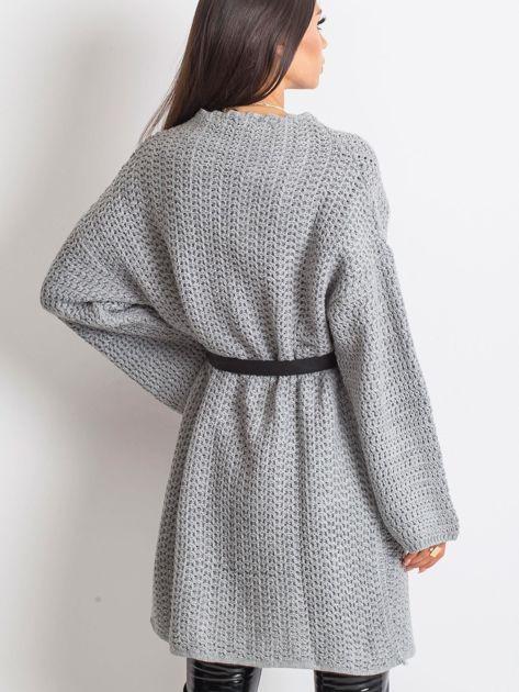 Jasnoszary sweter Luna                              zdj.                              2
