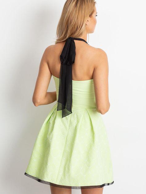 Jasnozielona sukienka Kim                              zdj.                              2