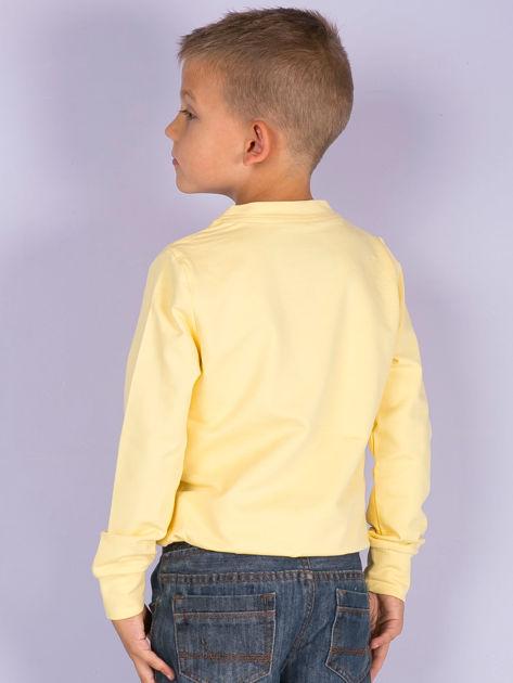 Jasnożółta bluza młodzieżowa                              zdj.                              7